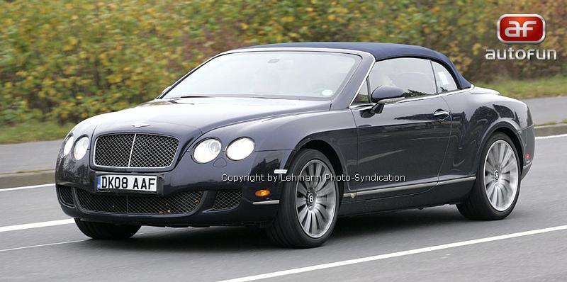 Spy Photos: Bentley Continental GTC Speed: - fotka 3