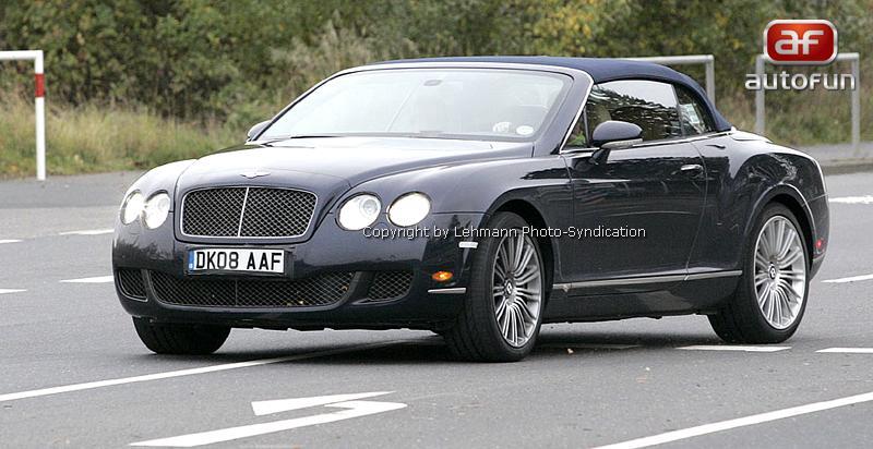 Spy Photos: Bentley Continental GTC Speed: - fotka 4