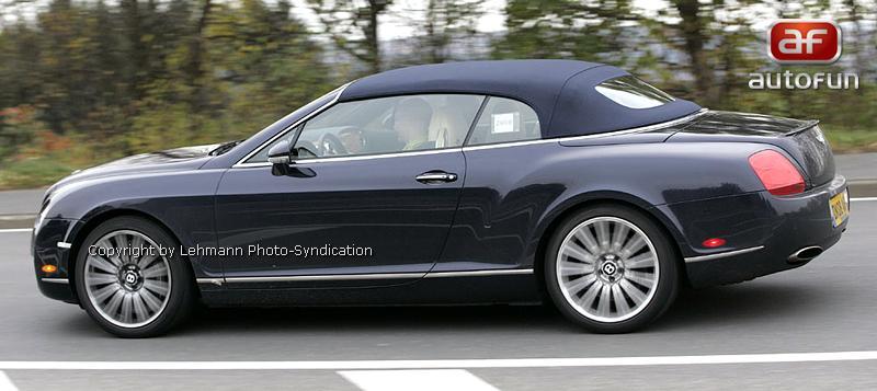 Spy Photos: Bentley Continental GTC Speed: - fotka 6