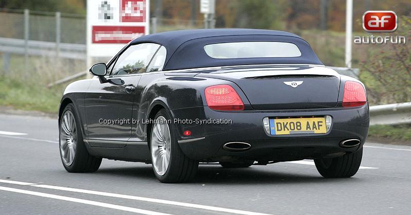 Spy Photos: Bentley Continental GTC Speed: - fotka 9