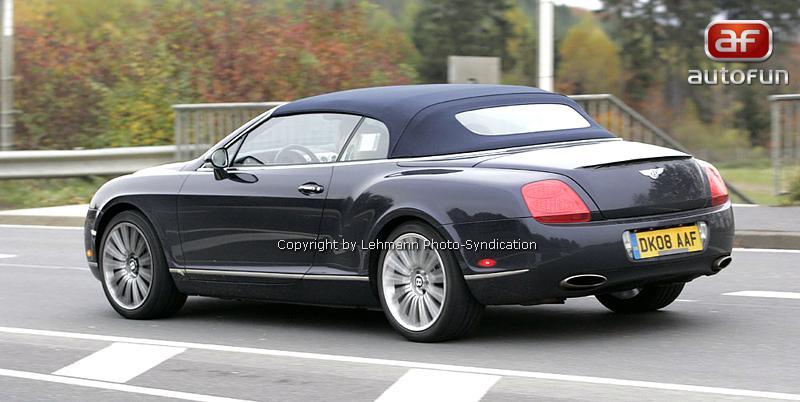 Spy Photos: Bentley Continental GTC Speed: - fotka 10