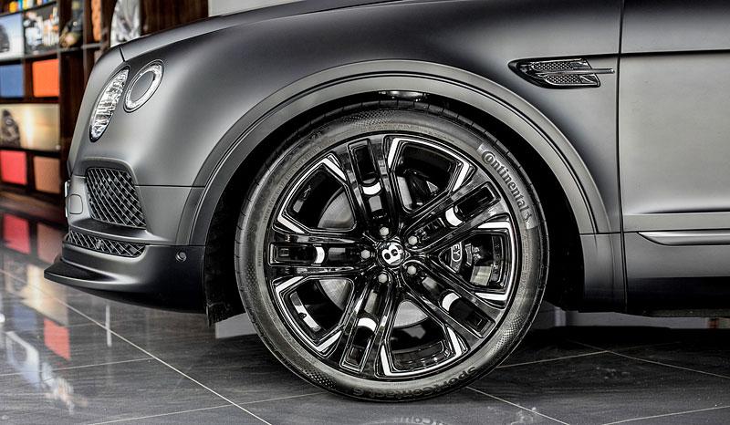 Bentley Bentayga v decentní úpravě od WheelsAndMore s výkonem 710 koní: - fotka 8