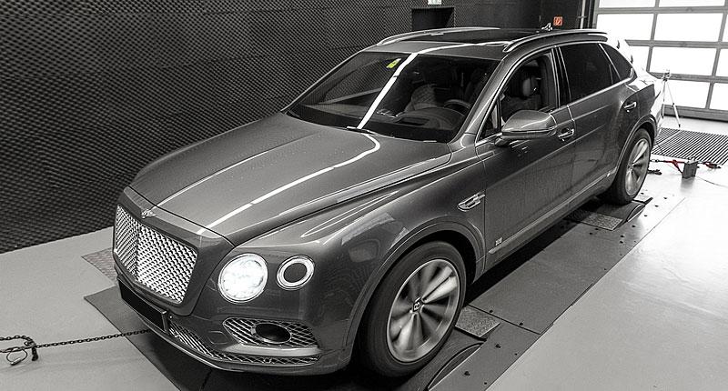 Bentley Bentayga v decentní úpravě od WheelsAndMore s výkonem 710 koní: - fotka 16
