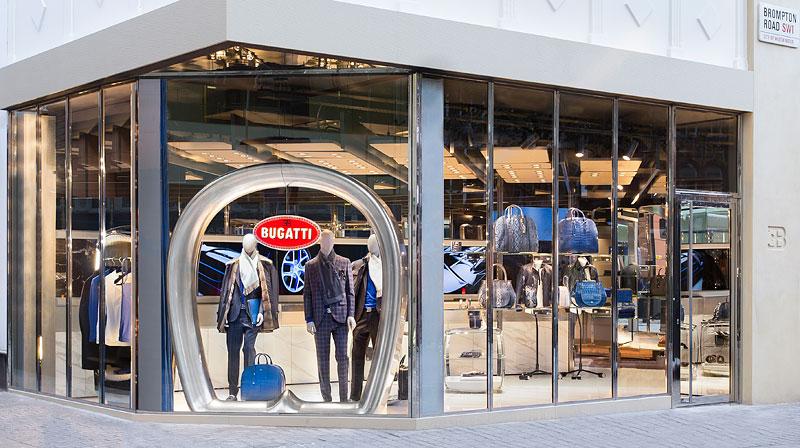 Automobilka Bugatti má svůj první značkový butik: - fotka 1
