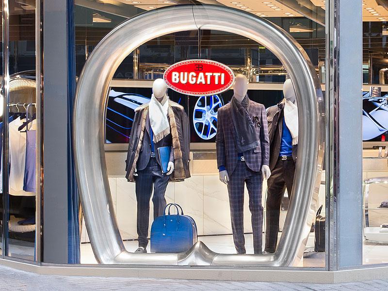 Automobilka Bugatti má svůj první značkový butik: - fotka 2