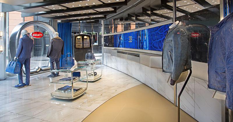 Automobilka Bugatti má svůj první značkový butik: - fotka 5
