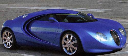 Bugatti Veyron podle Waltera de Silvy: - fotka 1