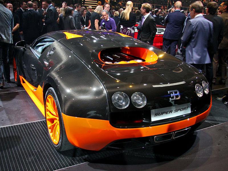 Paříž 2010 živě: Bugatti Veyron Super Sport: - fotka 9