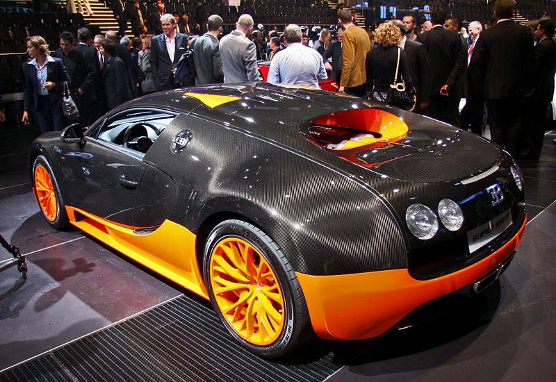 Paříž 2010 živě: Bugatti Veyron Super Sport: - fotka 11