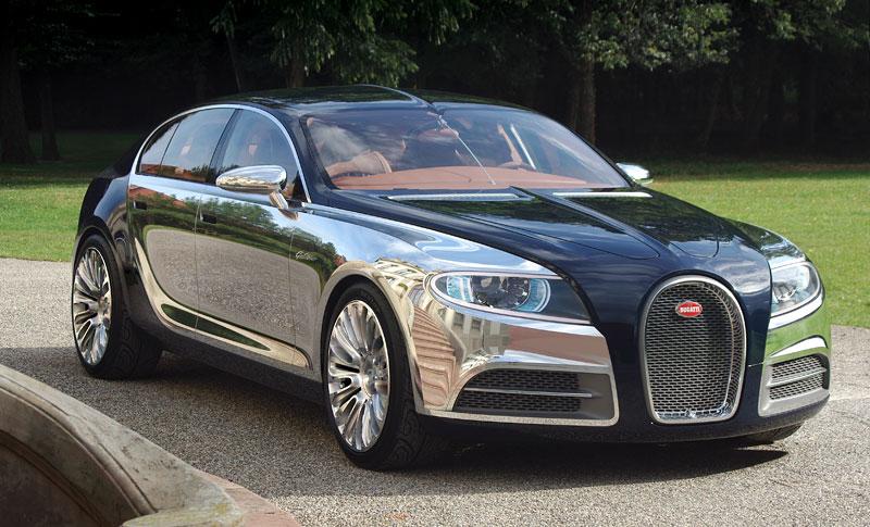 Bugatti: Čtyřdveřová verze ani silnější Veyron nebudou: - fotka 10