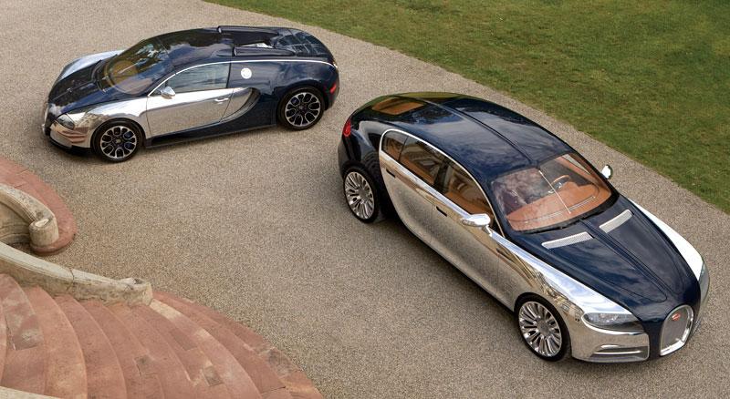 Bugatti: Čtyřdveřová verze ani silnější Veyron nebudou: - fotka 11