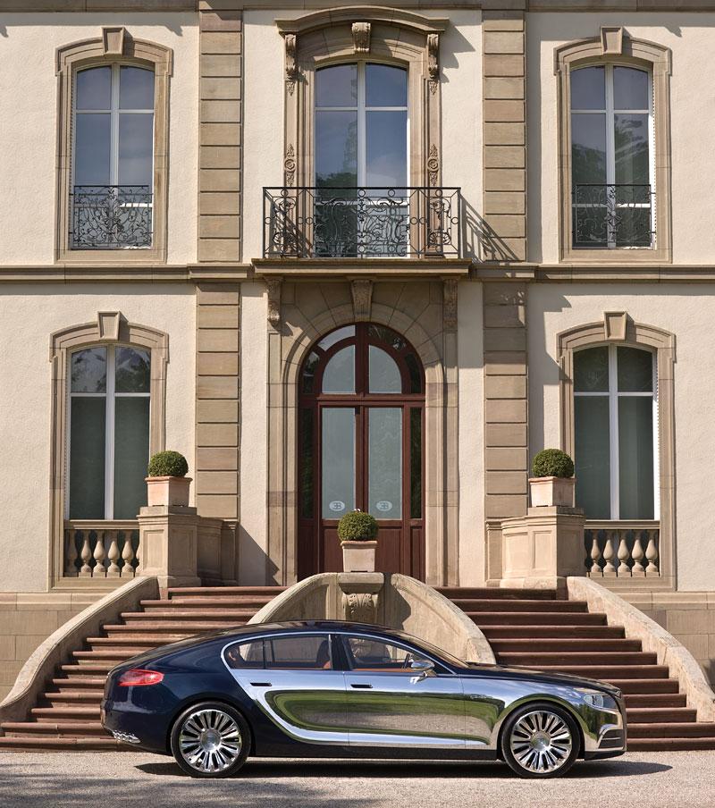 Bugatti: Čtyřdveřová verze ani silnější Veyron nebudou: - fotka 12