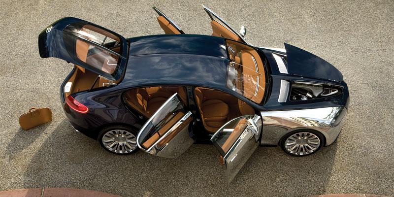 Bugatti: Čtyřdveřová verze ani silnější Veyron nebudou: - fotka 13