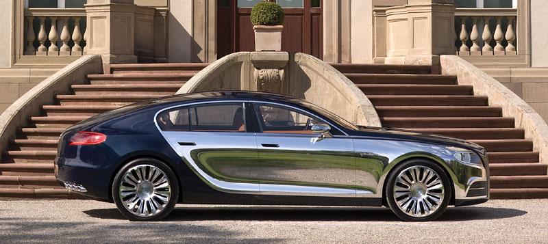 Bugatti: Čtyřdveřová verze ani silnější Veyron nebudou: - fotka 15