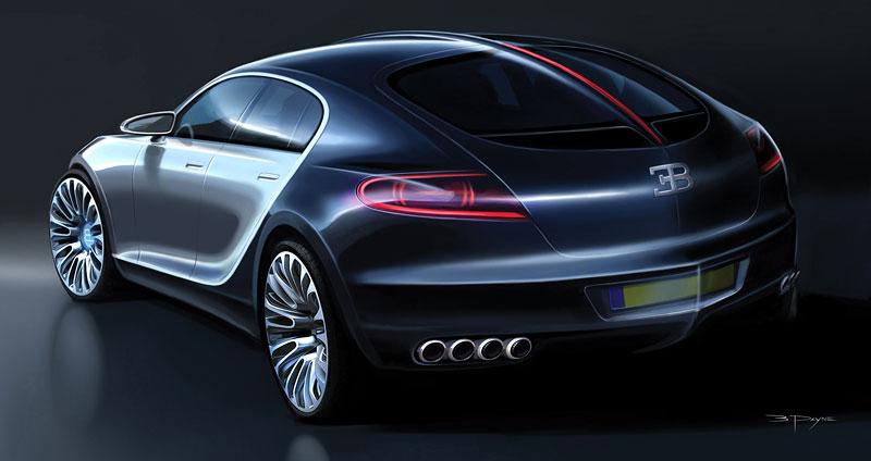 Bugatti: Čtyřdveřová verze ani silnější Veyron nebudou: - fotka 30