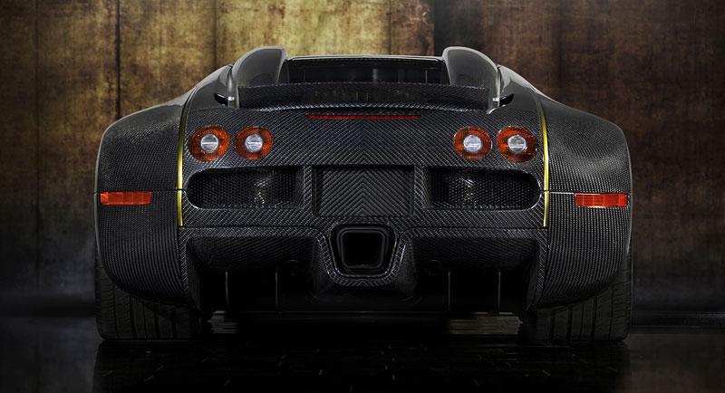Mansory LINEA Vincero d'Oro: karbon a zlato pro Bugatti Veyron: - fotka 13