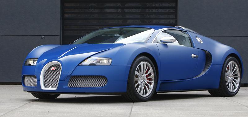 Autosalon Ženeva: Bugatti Veyron Bleu Centenaire: - fotka 14