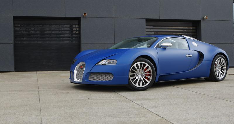Autosalon Ženeva: Bugatti Veyron Bleu Centenaire: - fotka 15