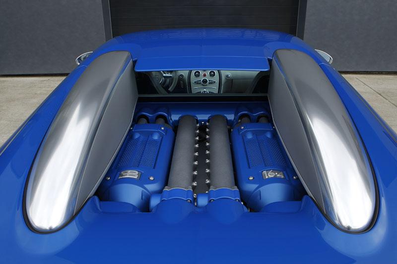 Autosalon Ženeva: Bugatti Veyron Bleu Centenaire: - fotka 17