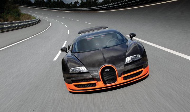 Bugatti Veyron Super Sport: první foto produkční verze: - fotka 25
