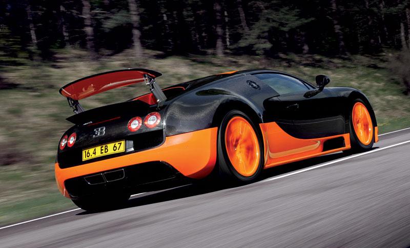 Bugatti Veyron Super Sport: první foto produkční verze: - fotka 32