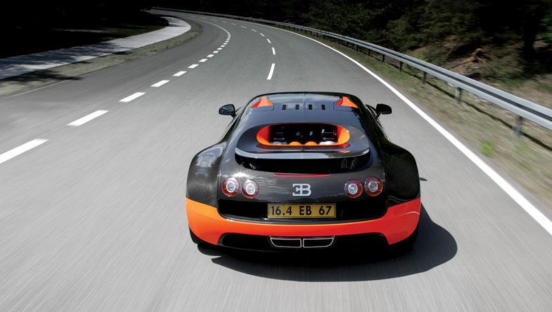 Bugatti Veyron Super Sport: první foto produkční verze: - fotka 35