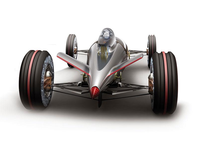 L.A. Design Challenge: BMW Salt Flat Racer: - fotka 2