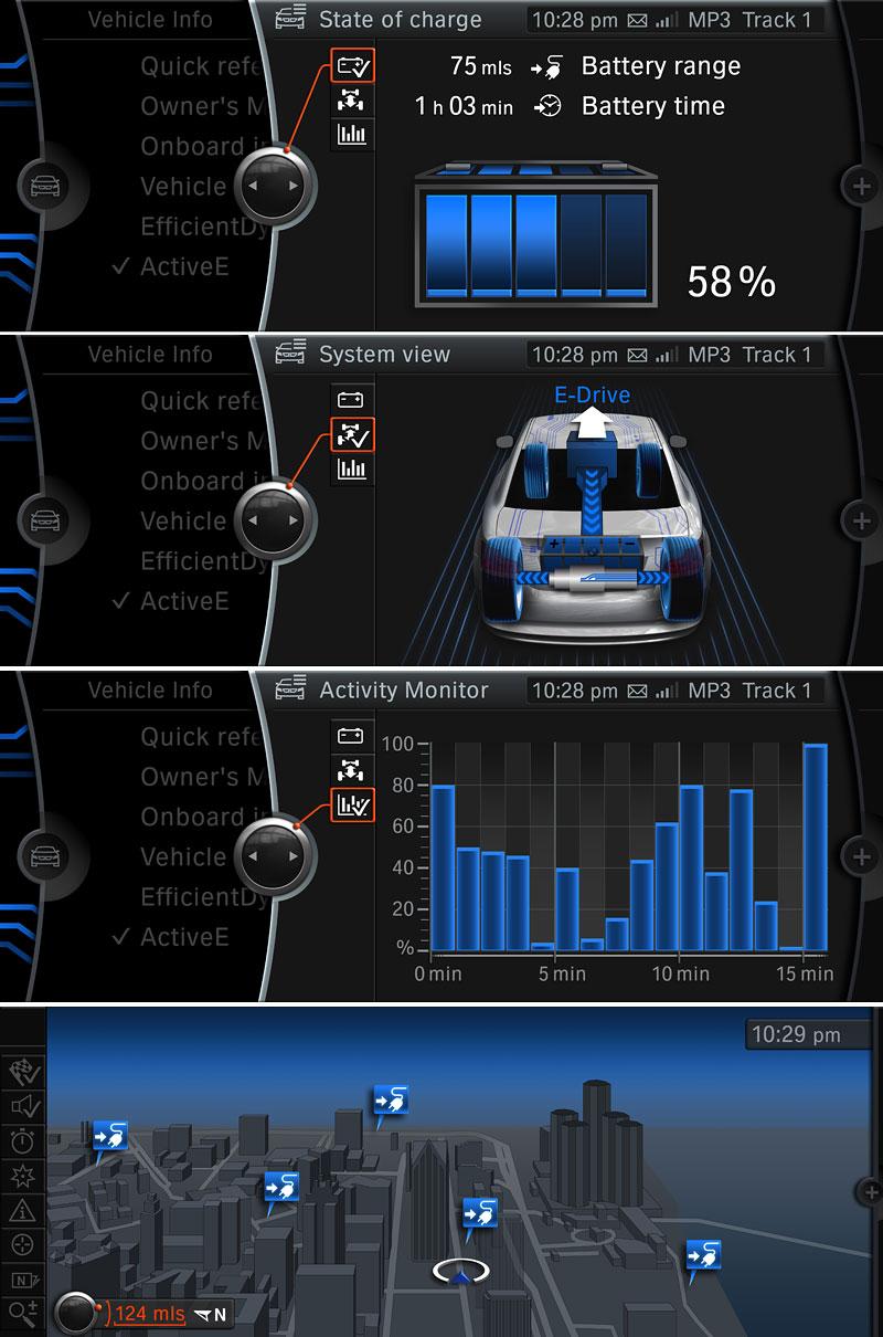 BMW Concept Active E: na plný baterky: - fotka 9