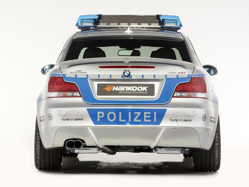 BMW 123d Coupé by AC Schnitzer: eins, zwei, Polizei!: - fotka 27