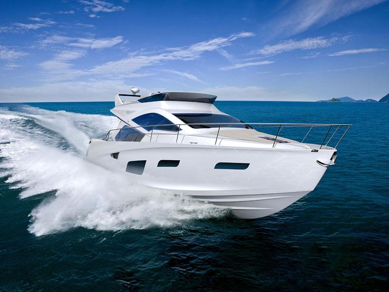 Intermarine 55: nádherná jachta z dílen BMW Designworks USA: - fotka 4