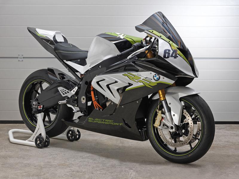 BMW eRR: Elektrický superbike od Bavorů: - fotka 1