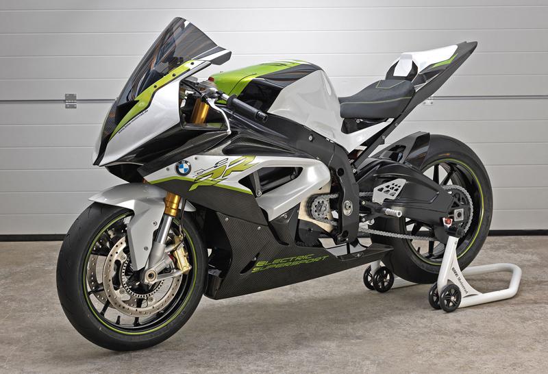 BMW eRR: Elektrický superbike od Bavorů: - fotka 2