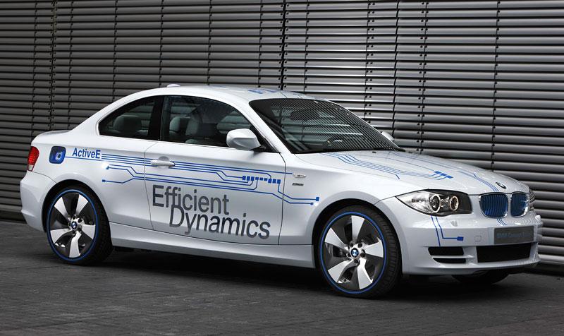 BMW Concept Active E: na plný baterky: - fotka 15
