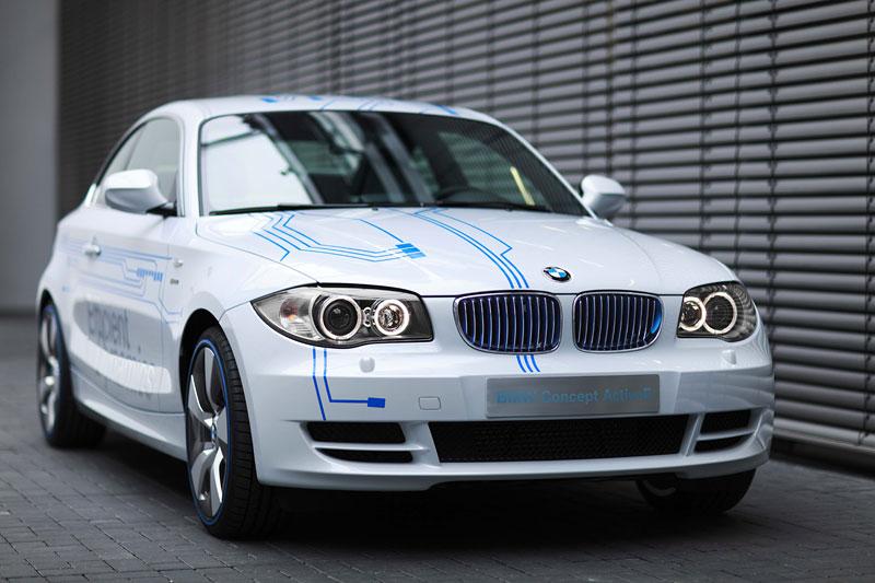 BMW Concept Active E: na plný baterky: - fotka 16