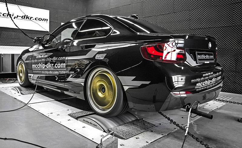 BMW 220i Coupé jako MC320: - fotka 5