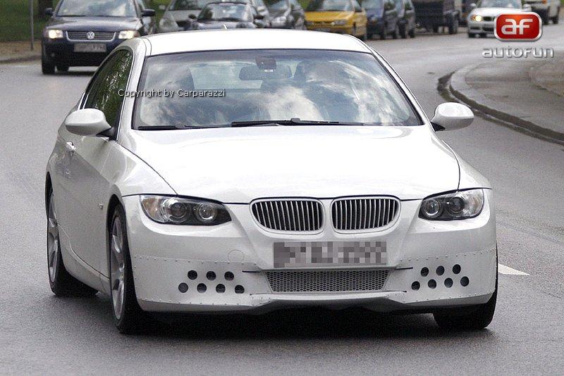 Spy Photos: BMW 3 Coupe: - fotka 1