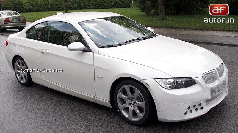 Spy Photos: BMW 3 Coupe: - fotka 2
