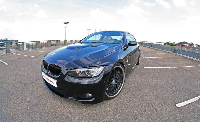 BMW 335i Black Scorpion: 406 koní od MR Car Design: - fotka 3