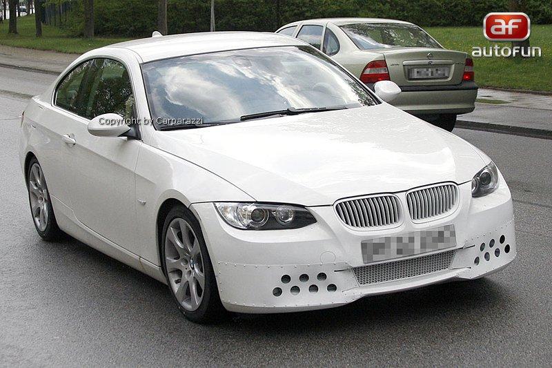 Spy Photos: BMW 3 Coupe: - fotka 3
