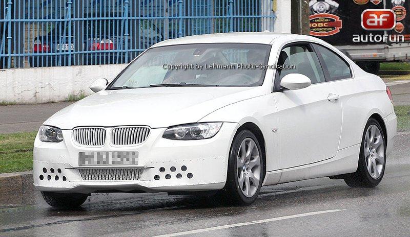 Spy Photos: BMW 3 Coupe: - fotka 4