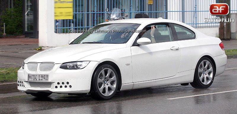Spy Photos: BMW 3 Coupe: - fotka 5