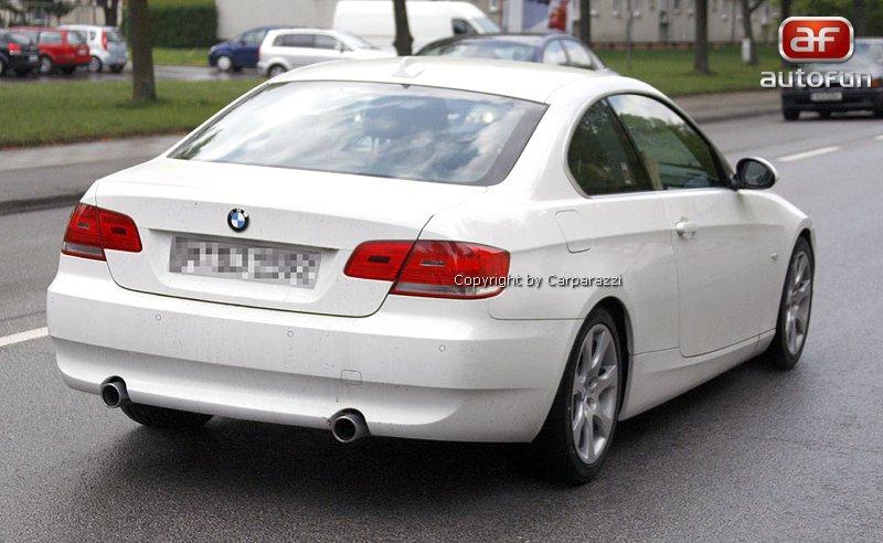 Spy Photos: BMW 3 Coupe: - fotka 6