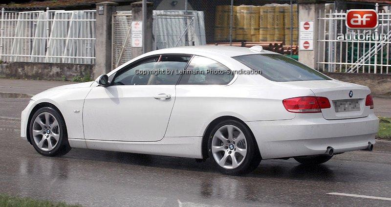Spy Photos: BMW 3 Coupe: - fotka 8