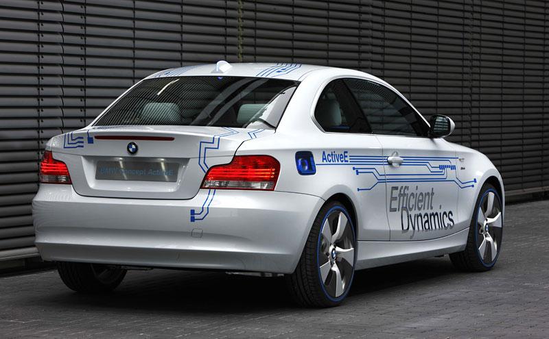 BMW Concept Active E: na plný baterky: - fotka 19