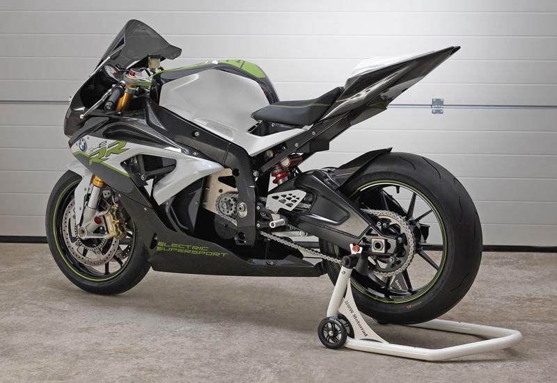 BMW eRR: Elektrický superbike od Bavorů: - fotka 3