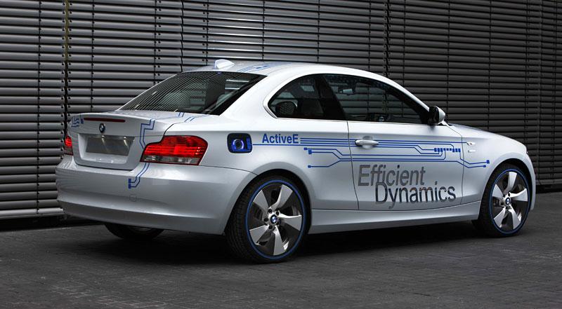 BMW Concept Active E: na plný baterky: - fotka 20