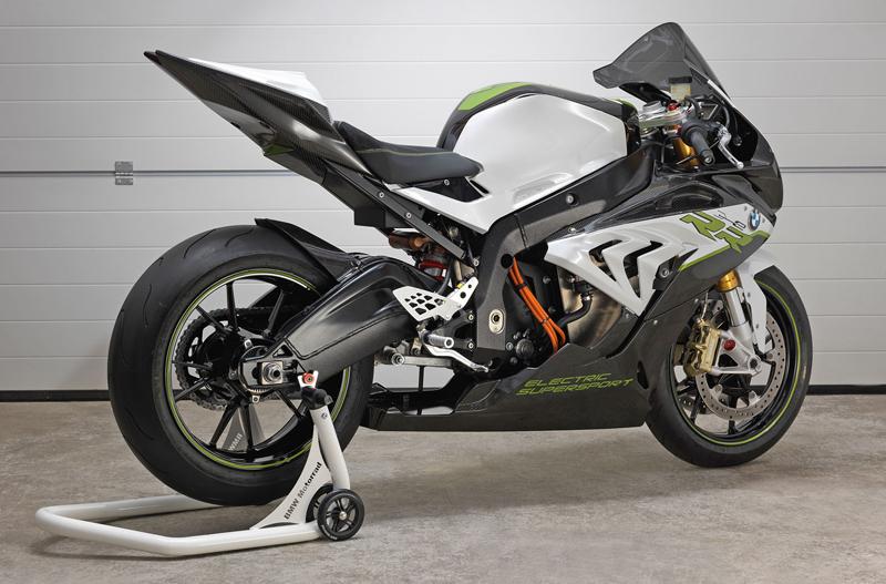 BMW eRR: Elektrický superbike od Bavorů: - fotka 4
