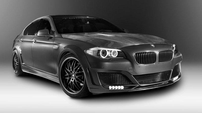 Lumma Design CLR 500 RS2: Nabroušené BMW řady 5: - fotka 3
