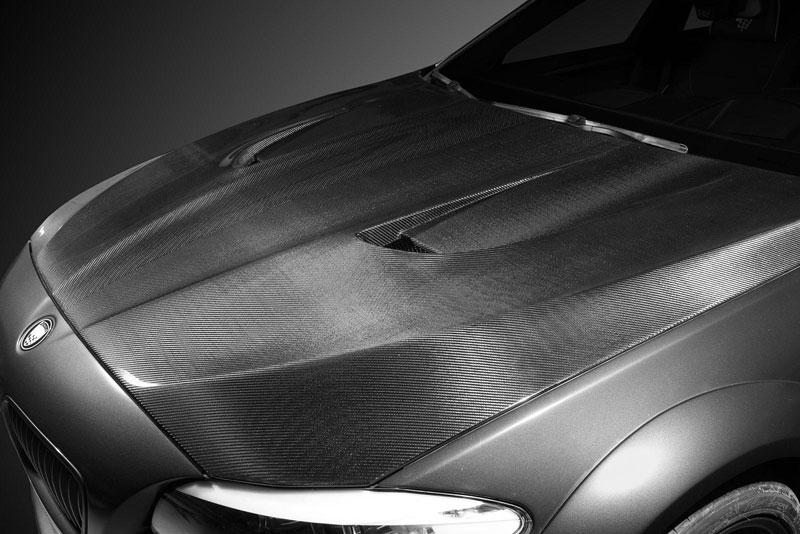 Lumma Design CLR 500 RS2: Nabroušené BMW řady 5: - fotka 7