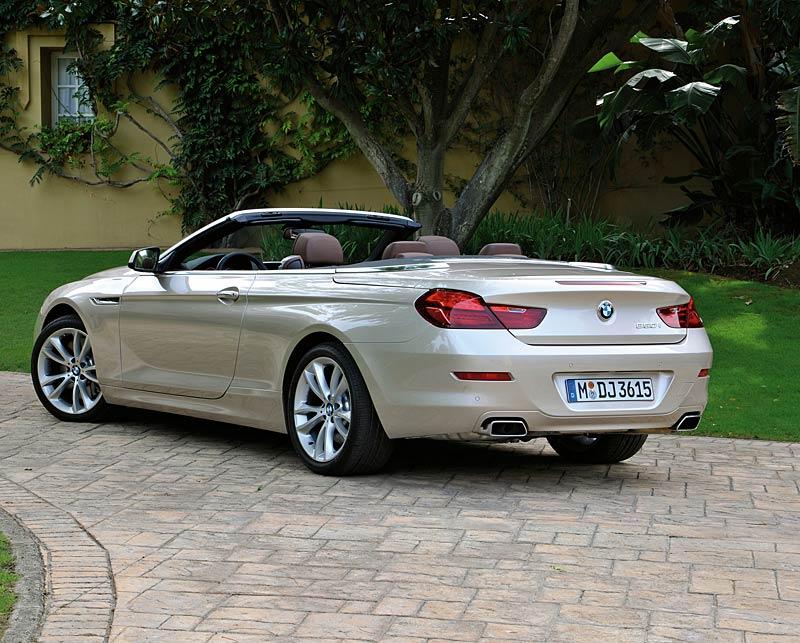 Nové BMW řady 6 se představuje jako kabriolet (+ velká fotogalerie): - fotka 40